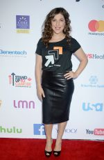 MAYIM BIALIK at 5th Biennial Stand Up To Cancer in Los Angeles 09/09/2016