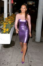 MEALANIE BROWN Out for Dinner in New York 08/31/2016