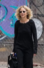 MEG RYAN Out and About in New York 09/06/2016
