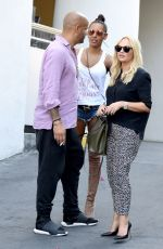 MELANIE BROWN and EMMA BUNTON Out for Lunch at Mondrain Hotel in West Hollywood 09/17/2016