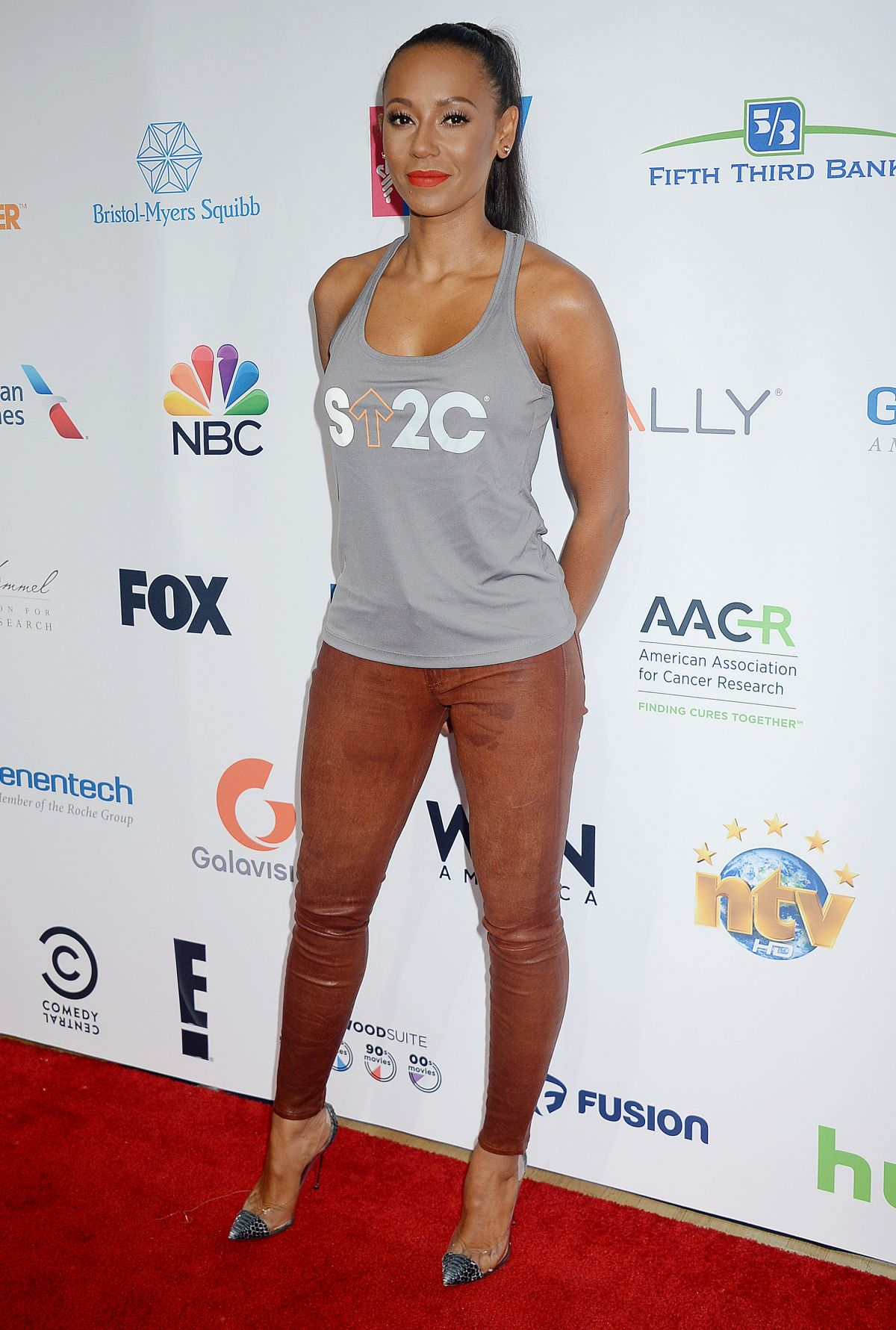 MELANIE BROWN at 5th Biennial Stand Up To Cancer in Los Angeles 09/09/2016