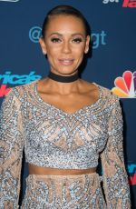 MELANIE BROWN at America's Got Talent Season 11 Finale Live Show in Hollywood 09/14/2016