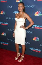 MELANIE BROWN at America's Got Talent Season 11 Live Show in Hollywood 08/31/2016