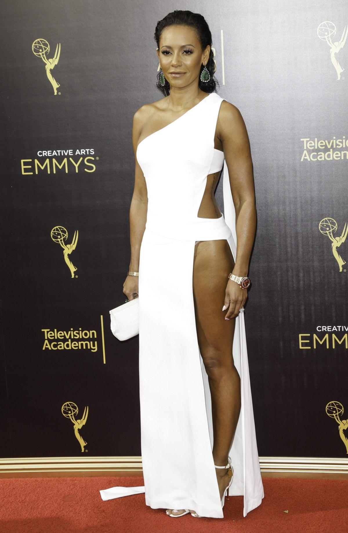 MELANIE BROWN at Creative Arts Emmy Awards in Los Angeles ...