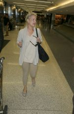 MELODY ANDERSON at LAX Airport in Los Angeles 09/06/2016