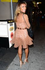 MELODY THORNTON Out on Sunset Blvd in Los Angeles 09/23/2016