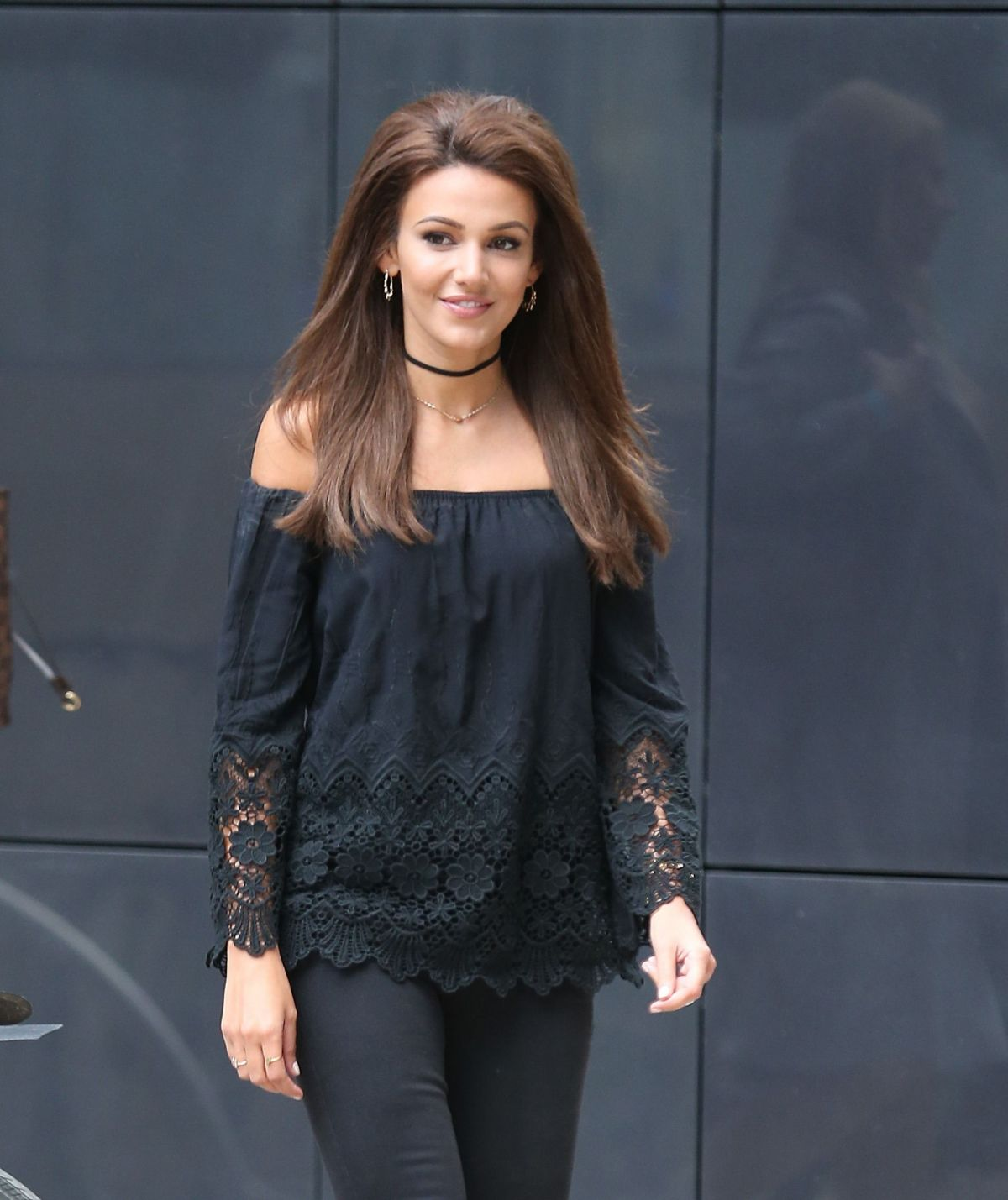 MICHELLE KEEGAN Arrive...