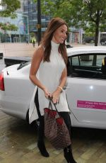MICHELLE KEEGAN at BBC Breakfast Studios in Manchester 09/05/2016