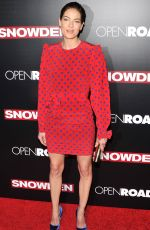 MICHELLE MONAGHAN at Snowden Premiere in New York 09/13/2016