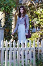 MICHELLE MONAGHAN on the Set of