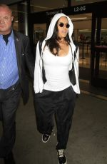 MICHELLE RODRIGUEZ at Los Angeles International Airport 09/15/2016