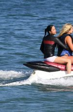 MICHELLE RODRIGUEZ Jet Skiing in Malibu 09/03/2016