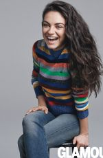 MILA KUNIS in Glamour Magazine, August 2016 Issue