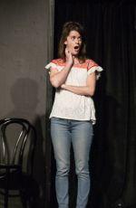 MILANA VAYNTRUB Performs in An Improv Show in Los Angeles 08/20/2016
