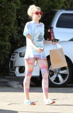 MILEY CYRUS Out and About in Malibu 09/26/2016