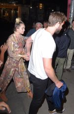 MILEY CYRUS Out and About in New York 09/15/2016