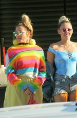 MILEY CYRUS Out to Lunch at Nobu in Malibu 09/05/2016