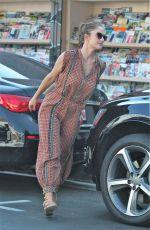 MINKA KELLY Leaves a Restaurant in West Hollywood 09/21/2016