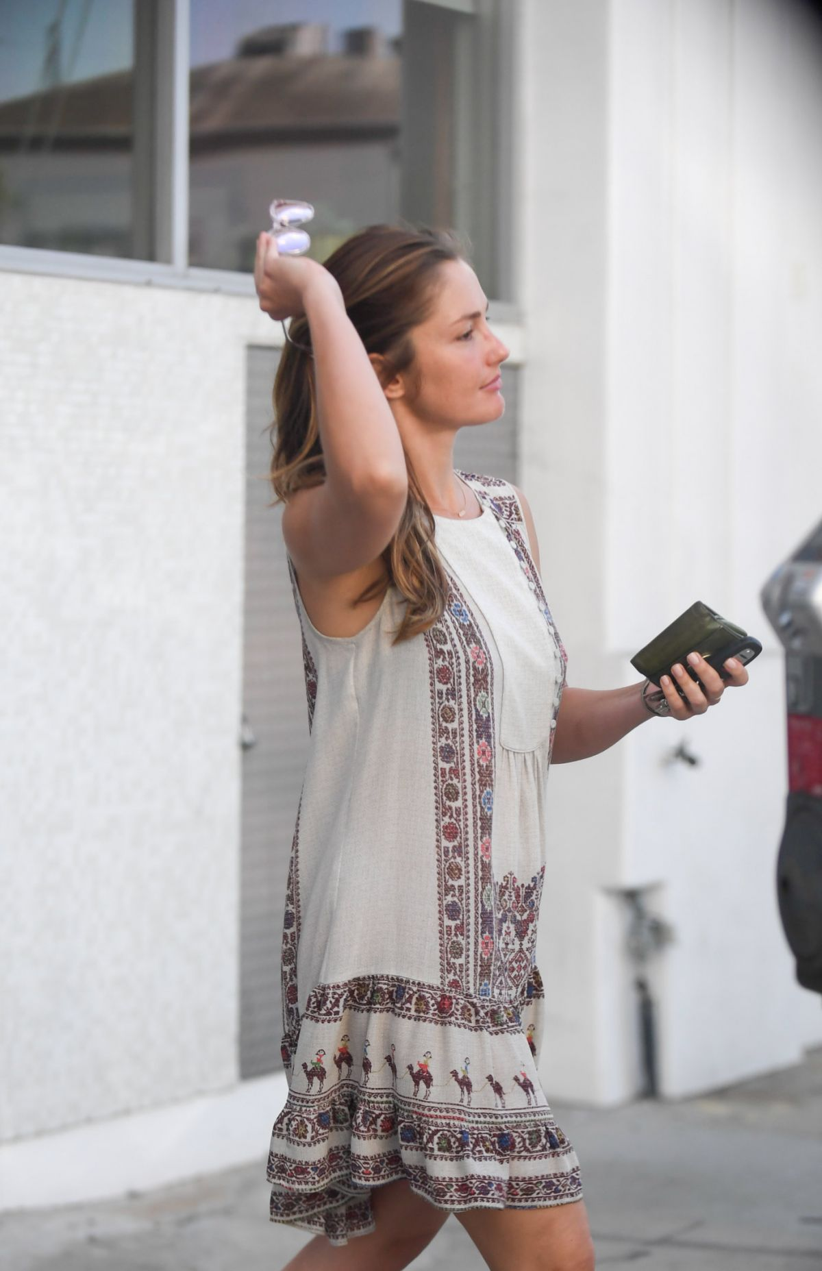 MINKA KELLY Out and About in Hollywood 09/06/2016