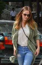 MINKA KELLY Out and About in Los Angeles 09/13/2016