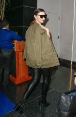 MIRANDA KERR at JFK Airport in New York 09/23/2016