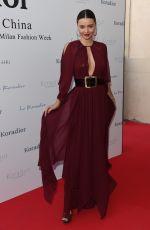MIRANDA KERR Leaves Koradior Fashion Show in Milan 09/26/2016