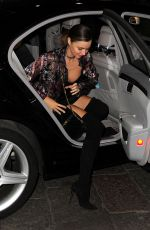 MIRANDA KERR Night Out in Milan 09/26/2016