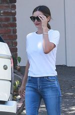 MIRANDA KERR Out and About in Los Angeles 09/09/2016