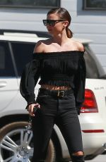 MIRANDA KERR Out and About in Los Angeles 09/28/2016