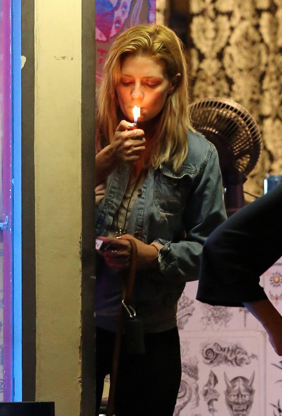 barton smoking Mischa