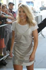 MOLLIE KING at BBC Radio 1 Studios in London 09/15/2016