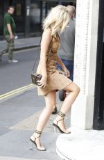 MOLLIE KING Out and About in London 09/21/2016