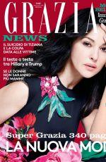 MONICA BELLUCCI in Grazia Magazine, September 2016