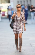 MYLEENE KLASS Out and About in London 09/08/2016