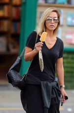 MYLEENE KLASS Out in London 09/21/2016