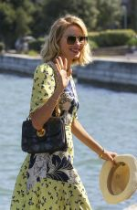 NAOMI WATTS Arrives at a Private Dock in Venice 09/02/2016