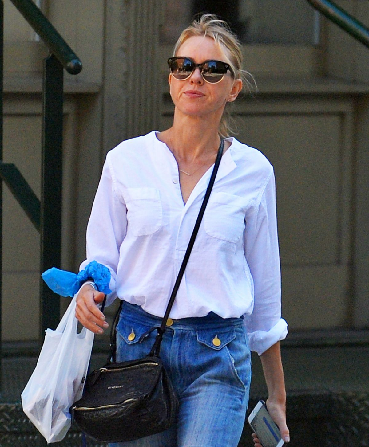 NAOMI WATTS Out and About in New York 09/11/2016