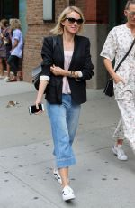NAOMI WATTS Out and About in New York 09/16/2016