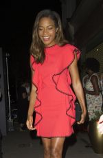 NAOMIE HARRIS at Oliver Peoples Store Launch Party in London 09/14/2016
