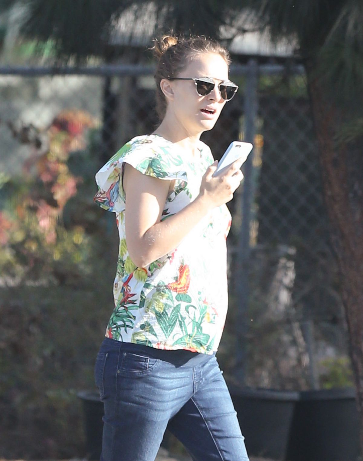 NATALIE PORTMAN Out in Los Angeles 09/23/2016