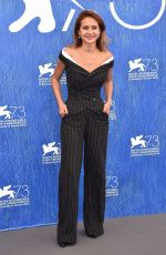 NELLY KARIM at 73rd Venice Film Festival Jury Photocall in Venice 08/31/2016