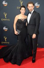 NEVE CAMPBELL at 68th Annual Primetime Emmy Awards in Los Angeles 09/18/2016