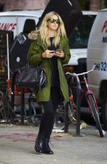 NICKY HILTON Out and About in New York 09/26/2016