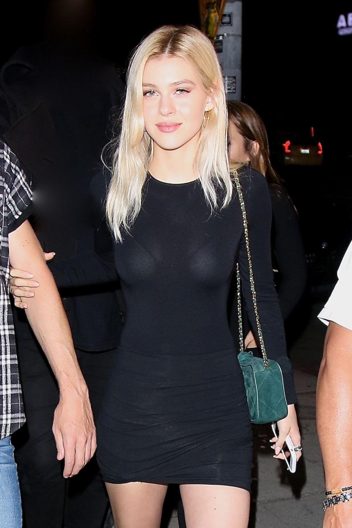 NICOLA PELTZ at Nice Guy in West Hollywood 09/23/2016