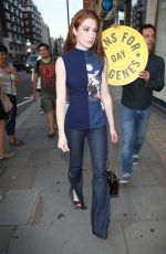 NICOLA ROBERTS at Jeans for Genes Day 2016 Launch Party in London 09/13/2016