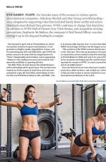 NIKKI and BIRE BELLE (BELLA TWINS) in Muscle & Fitness Magazine, October 2016 Issue