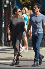 NIKKI REED and Ian Somerhalder Out Shopping in New York 09/21/2016