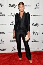 NINA AGDAL at The Daily Front Row's 4th Annual Fashion Media Awards in New York 09/08/2016