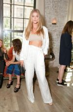 NINA AGDAL at W Magazine IT Girl Luncheon in New York 09/07/2016