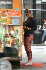 NINA AGDAL in Out and About in New York 09/28/2016